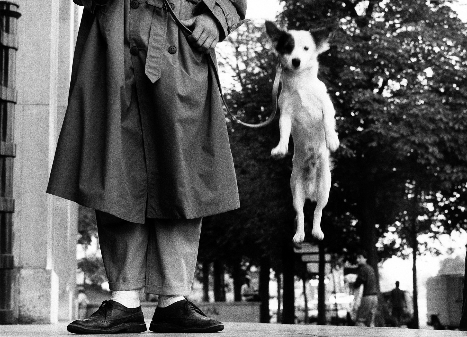 "Elliott Erwitt ""France. Paris. 1989."""